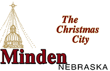 Minden Nebraska the christmas city
